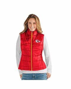 G-III 4her Kansas City Chiefs Women's Wing Back Vest - Red