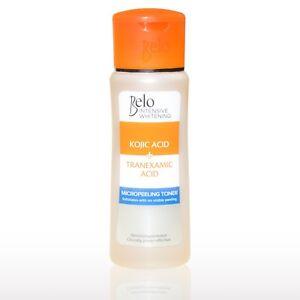 NEW Belo Intensive Kojic & Tranexamic Acid Whitening Micro-peeling Toner 60mL