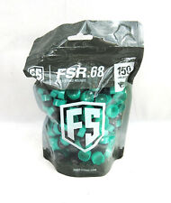 First Strike Paintball Fsr Paintballs 150 Count Smoke Mint Shell Orange Fill