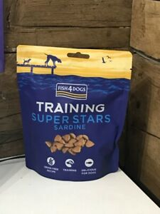 Fish4dogs Training Sardine Superstars Dog Treats 150g