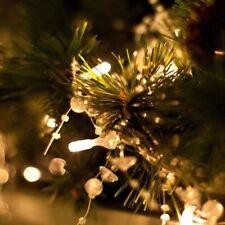 200 LED Lichterkette außen Stecker Timer Warmweiß Dimmbar für Weihnachten 21M
