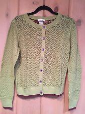 NWT MATILDA JANE Secret Fields GREEN IVY CARDIGAN Sweater Large L 10 12 Adult