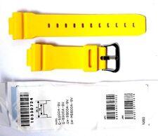 CASIO WATCH BAND:  10330724  BAND FOR G-5600  GW-6900 GWM5600  Yellow Resin