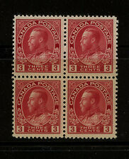 Canada  109  Mint  block   2 stamps  NH        catalog $105.00       MS1124
