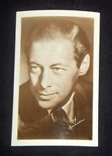 Rex Harrison 1940's 1950's Actor's Penny Arcade Photo Card