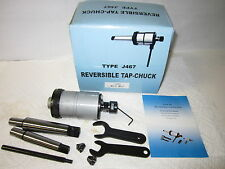 """0-1/4"""" Reversible Tapping Head, Tap Cuck, w. Arbors,Collets,Accessories--new"""