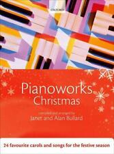 Pianoworks Christmas Alan Bullard Piano Xmas Book with CD