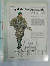 Military Uniform Information sheets.