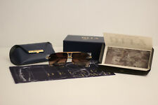 Dita Decade Two 20th Anniversary Limited DRX2082 18K Gold Black Brown Sunglasses