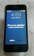 Apple A1533 iPhone 5S Gray Clean Esn iCloud Read Description