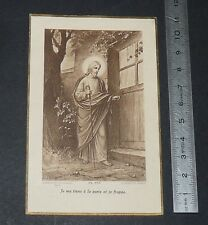 CHROMO IMAGE PIEUSE CATHOLICISME HOLY CARD NOCES D'OR SACERDOTALES 1872-1922