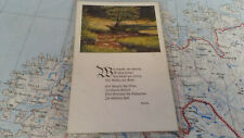 Wie reizend alles umher Goethe AK Postkarte 9385