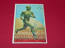 N°159 HELSINKI 1952 PANINI OLYMPIA 1896 - 1972 JEUX OLYMPIQUES OLYMPIC GAMES
