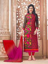 Dress Material Designer Cotton Semi stitched Suit Salwar suit