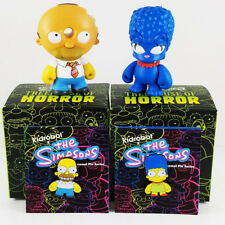 Homer + Marge Mini's & Pins Bundle Pack - Simpsons Treehouse of Horrors Kidrobot