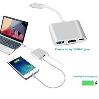 "usb - 3.1 hub adapter - kabel erhebung. typ c 4k hdmi usb 3.0 For Macbook 12"""