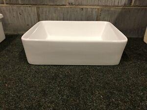 Ceramic White belfast Butler Kitchen sink New Boxed Ideal Farmhouse Inc Plug