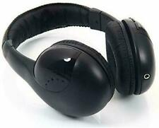 Roaming Wireless Over Ear Headphones Bluetooth WiFi Clear Sound Black Color