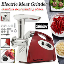 Heavy Duty KITCHEN Stainless Electric Meat Grinder/Stuffer Burger Sausage Maker