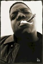 THE NOTORIOUS B.I.G. ~ SMOKE ~ 24x36 MUSIC POSTER Biggie Smalls BIG Rap Hip Hop