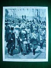 Nel 1922 Trieste e Venezia Giulia viaggio Princ. Jolanda Duca D'Aosta, Pitacco