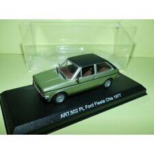 FORD FIESTA Ghia 1977 Vert et toit Noir DETAILCARS 502 1:43