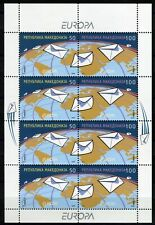 069 - MACEDONIA 2008 - Europa - Letter - MNH  Mini Sheet