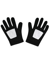 Spider-Man Black Gloves, Kids Ultimate Spider-Man Costume Accessory