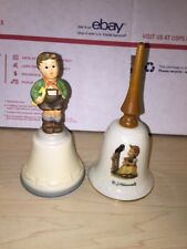 Hummel Bell Sing With Me Girl With Bird & Schmid Bell Lot