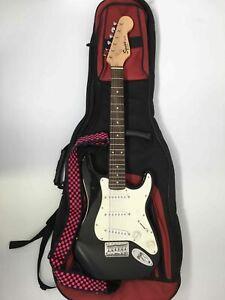 Fender Squier Mini Strat Electric Guitar - Black - Ser# IC070715183