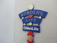 Epcot Wonders of Life Pavilion MetLife Sponsor Garden Stake Gift Disney World