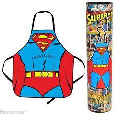 Tablier de cuisine officiel superman et boite Superman official apron new in box