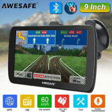 9Inch Awesafe Bluetooth Gps Navigation Portable Truck Navigator free 8Gb Usa Map