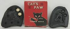 Cat's Paw Twin Grip Non Slip Rubber Heels - Half 10-11 - with box