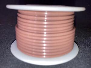 """FBN WT16-01-25  16 awg 19 Strand Type """"E"""" Teflon Brown 200°C@600V 25 ft. spool"""