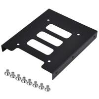 """2.5"""" to 3.5"""" SSD HDD Metal Adapter Mounting Bracket Hard Drive Holder for PC AP"""