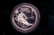 Neuseeland 5,- Dollar Lillehammer 1994 Silber