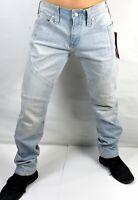 True Religion $159 Men's Geno Relaxed Slim Moto Brand Jeans - 102049