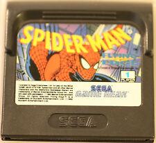SEGA GAME GEAR  GAMEGEAR SPIDER MAN   GAME (GAME ONLY)