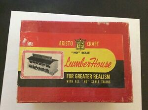 Aristo-Craft Lumber House .  An old one from the 50's or early 60's HO or HOn3