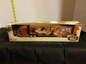 Nascar Dale Earnhardt Jr #8 American Heros 1:64 Winners Circle Trailer Rig 2007
