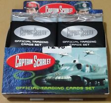 Captain Scarlet Trading Cards - Sealed & Numbered Box by Unstoppable Cards 2015