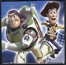 Toy Story Party Supplies Luncheon Party Napkins/Serviettes 16pk 33cm x 33cm