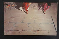 New Mexico NM Navajo Indian Sand Painting Native American Postcard Vintage