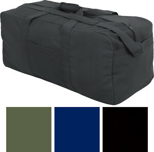 Jumbo Deluxe X-Large Assault Cargo Bag Carry Military Duffle with Strap