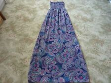 JANE NORMAN purple FLORAL Maxi-dress Size 8 USED GOOD CONDITION