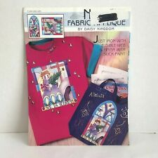 New listing Fabric Applique by Daisy Kingdom He is Risen 1995
