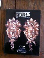 Zeitschrift Fmr N19 1989 Franco Maria Ricci