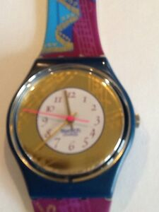 "SWATCH WATCH ""PALCO"" VERY RARE NEW COLLECTABLE MINT GG119 GREAT GIFT NIB"