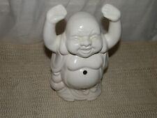 Happy Buddha, China, Hands In Air, Porcelain, Incense Burner